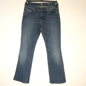 7 For All Mankind High Waist Bootcut Sz 28 Jeans